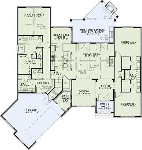 safe house plans european style house plans 2408 square foot home 1