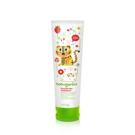 babyganics toothpaste strawberry fluoride free toothpaste strawberry babyganics