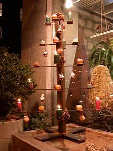 Weihnachtsbaum Metall Design : richard schreier ferroart kerzenleuchter ~ Frokenaadalensverden.com Haus und Dekorationen