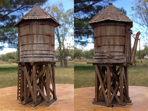 modifying  banta water tank  thunder mesa  model