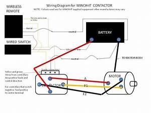 Chicago Electric Winch Solenoid Wiring Diagram