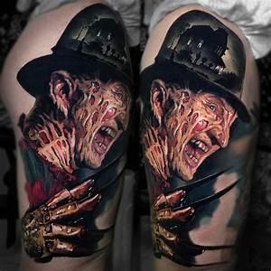 Freddy Krueger Tattoo | Best tattoo design ideas