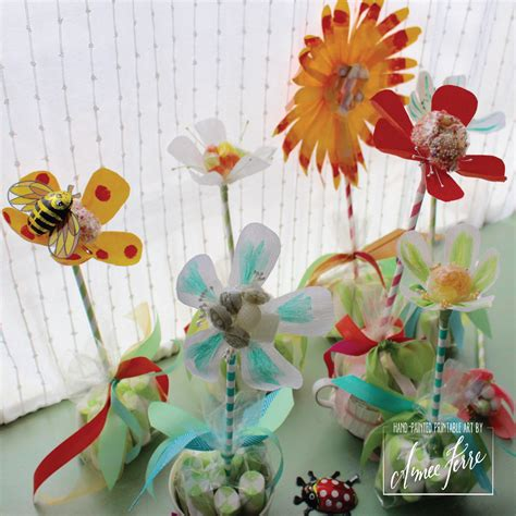 sweet blooms candy paper flowers  mom teachers