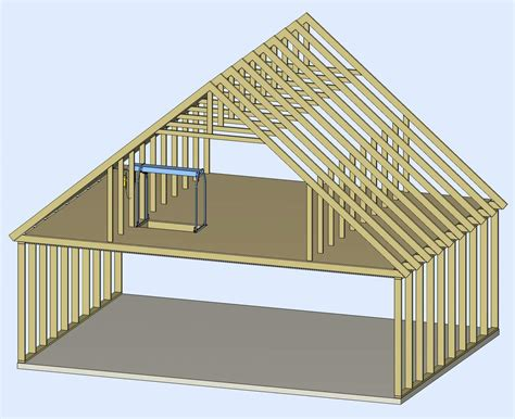attic roof design images image gallery roof trusses