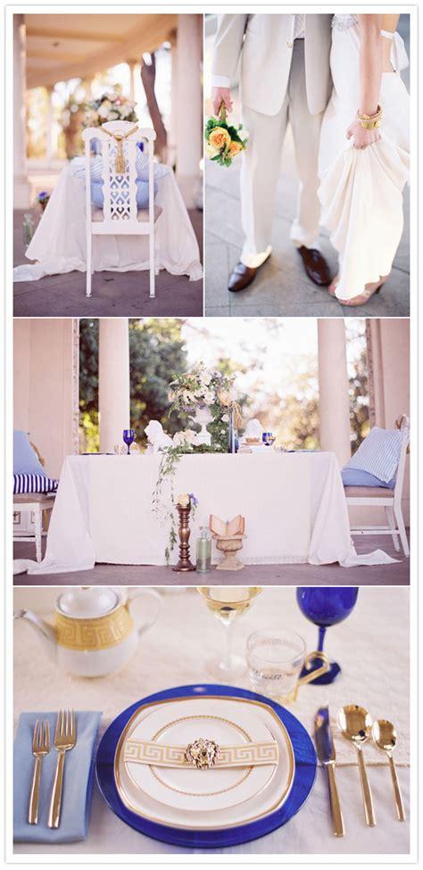A Mediterraneanstyle Inspiration Shoot Wedding