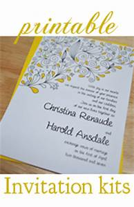 make your own wedding shower invitations template best With screen print your own wedding invitations