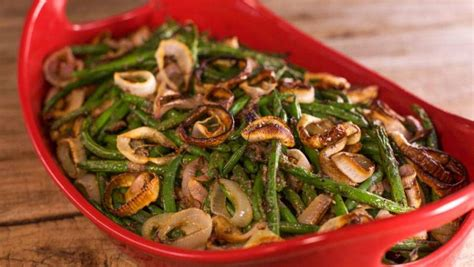 graham elliots healthy green bean casserole rachael ray
