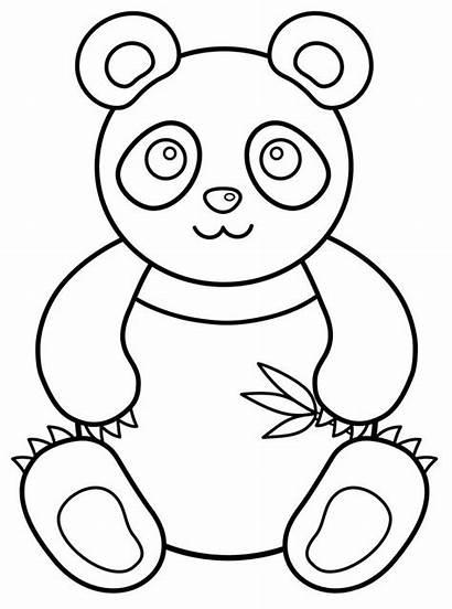 Panda Colorir Desenhos Urso Coloring Bear Imprimir