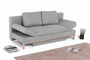 Möbel Outlet Online : skandinavisches schlafsofa silva in grau mit armteilverstellung m bel letz ihr online shop ~ Indierocktalk.com Haus und Dekorationen