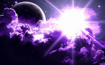 Purple Space Cool Backgrounds Background Wallpapersafari