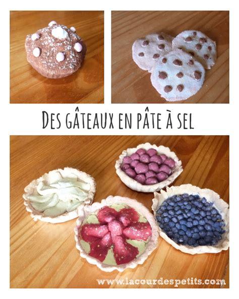 recette de cuisine simple et rapide idées pour la dinette 1 des gâteaux en pâte à sel la