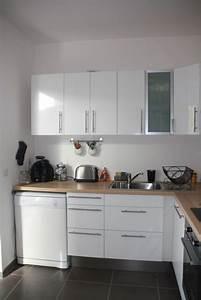 Cuisine Ikea Blanche Et Bois : cuisine blanche bois et inox photo 3 6 3509191 ~ Dailycaller-alerts.com Idées de Décoration