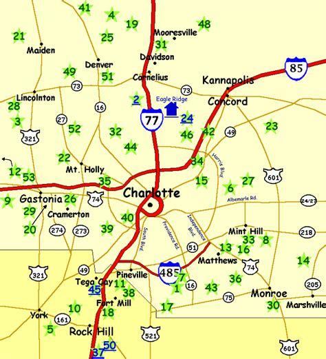 charlotte area map
