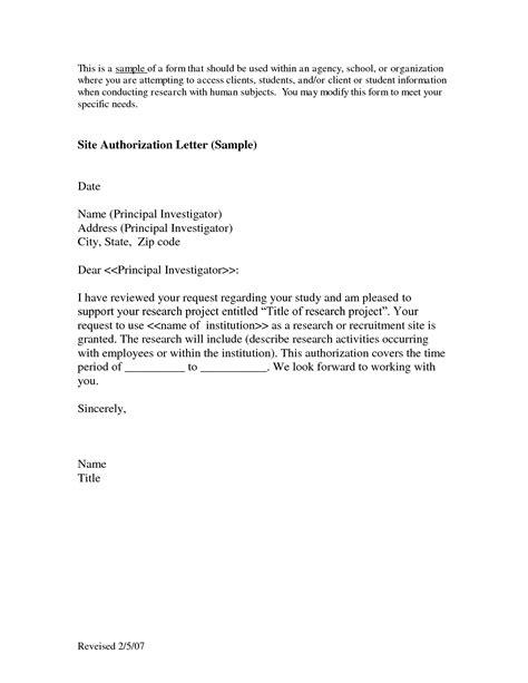 tender authorization letter authorization letter