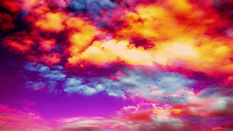 colored clouds abstract clouds hq 1080p 444 clean stock footage