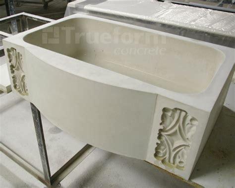 concrete kitchen sink molds concrete farm sink custom design trueform decor 5672