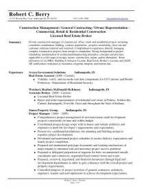 general contractor resume writing robert c berry resume