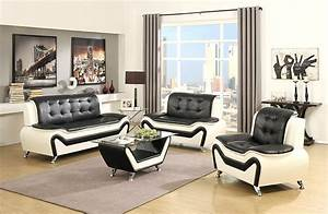 Amazon us pride furniture 3 piece modern bonded leather for 3 piece white sectional sofa