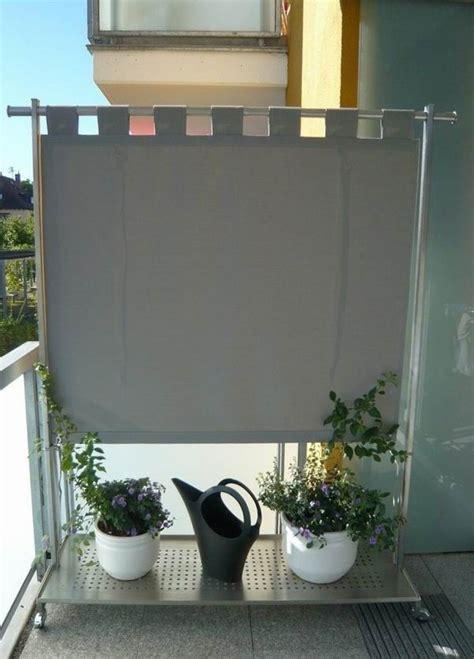 Sichtschutz Paravent Terrasse by Windschutz Und Paravent F 252 R Den Aussenbereich Balkonien
