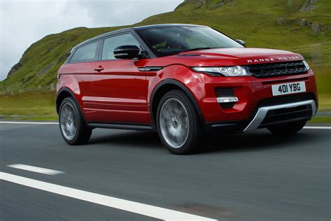 range rover evoque diesel coupe  drives auto express
