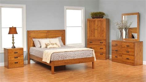 Solid Wood Bedroom Sets  At The Galleria