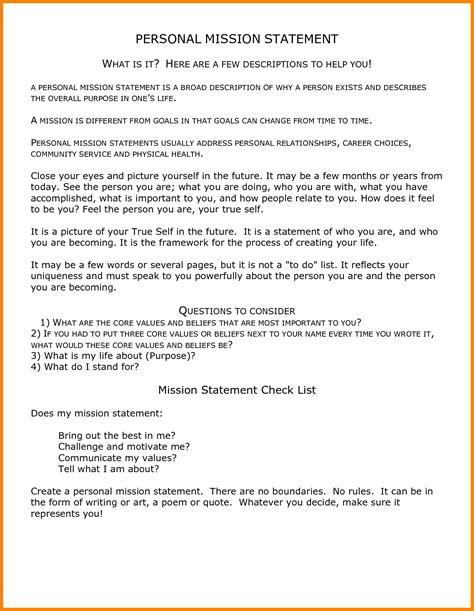 7 exles of personal mission statement statement 2017