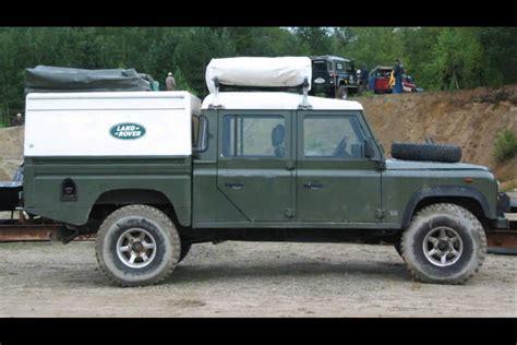 range rover defender 1990 1990 land rover defender 130 youtube