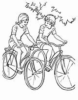 Coloring Printable Sheets Colouring Adult Riding Bikes Bike Bicycle Drawing Ride Raisingourkids Boys Activity Bluebonkers Cycling Activities Different Children Child sketch template