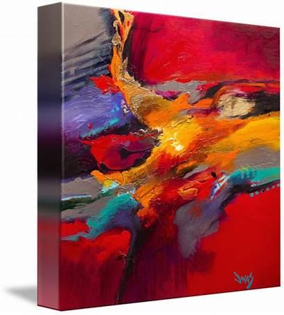 Jonas Gerard Abstract Impulsively Correct Ii Paintings