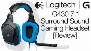 Headset Gaming Test : logitech g430 surround sound gaming headset review mic ~ Kayakingforconservation.com Haus und Dekorationen