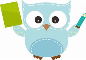 Owl clipart writing - Pencil and in color owl clipart writing