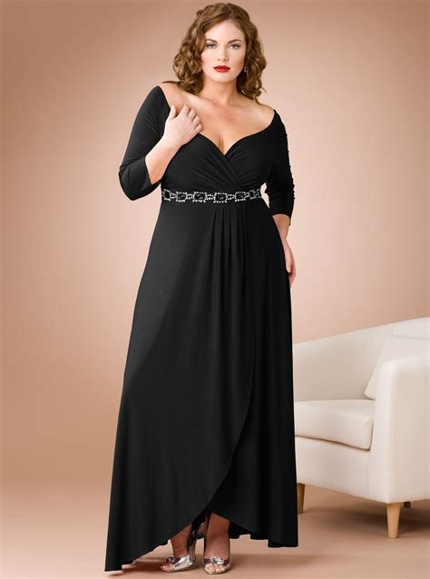 Cheap Plus Size Dresses With Sleeves 20142015 Fashion