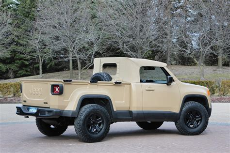 new jeep concept truck new jeep commanche pickup truck unveiled