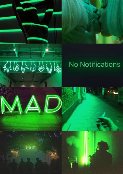 space green aesthetic collage esttica