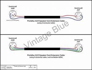 Longer Tube Amp Speaker Cable