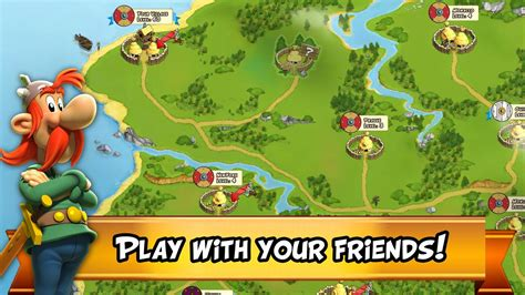 asterix  friends apk   strategy game