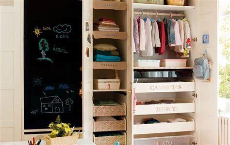 como ordenar el armario de los ninos
