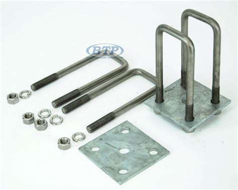 Boat Trailer Axle U Bolts by Trailer Leaf Stainless Steel U Bolt Kit Fits 2 X 3