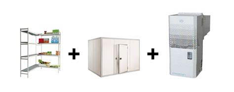 rayonnage chambre froide chambre froide negative l 3400 x p 1800 mm avec rayonnage