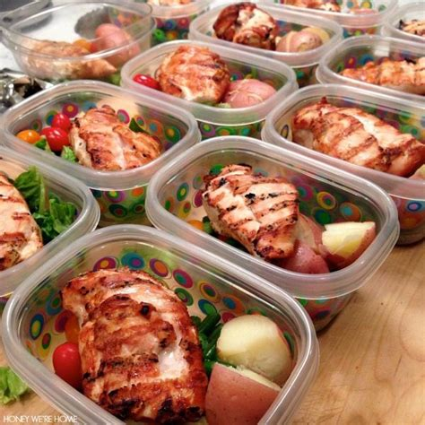 fast and easy meal quick easy contest meal prep perfectly cooked chicken honey we re home