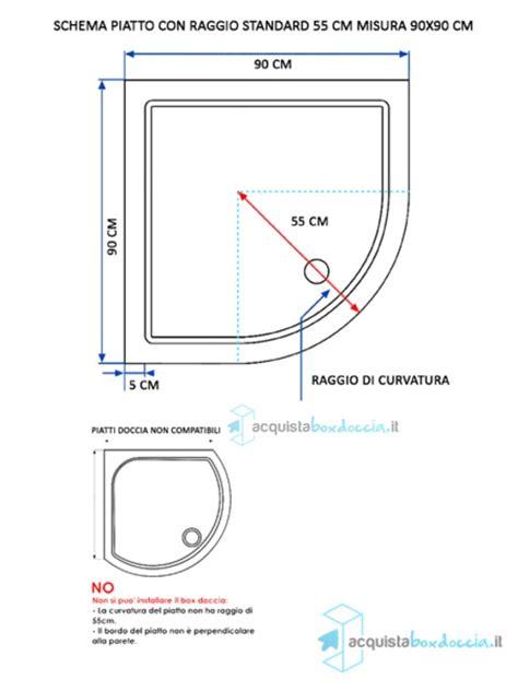 cabina doccia angolare 90x90 vendita box doccia semicircolare 90x90 cm opaco
