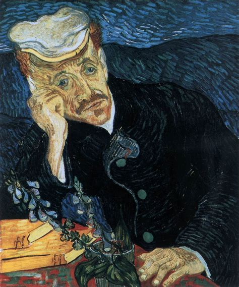 Portrait Of Doctor Gachet By Gogh Vincent Van