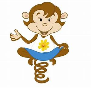 Cute Cartoon Monkey Girls Pictures - ClipArt Best