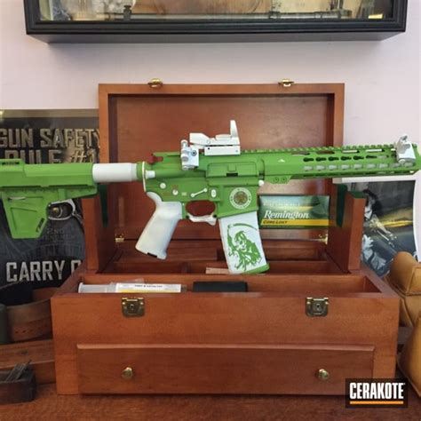 zombie apocalypse rifle ar cerakote bright themed 140q 216q 168q wesson tactical smith ar15 coatings project