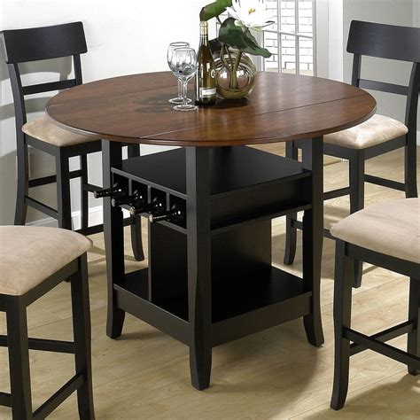 bar dining table set awesome modern home kitchen design with glossy gray
