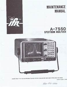 Ifr -- A-7550