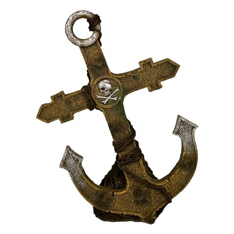 blue ribbon pirate ship anchor large ee 248 ebay