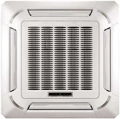 Ductless Ceiling Cassette Mini Split Air Conditioner by 24000 Btu 2 Ton Pioneer Inverter Ceiling Cassette Ductless
