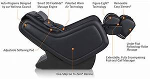 Zerog 5 0 Immersion Zero Gravity Massage Chair Recliner By