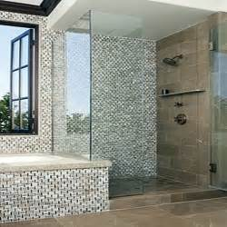 bathroom with mosaic tiles ideas mosaic bathroom tile ideas for showers home improvement